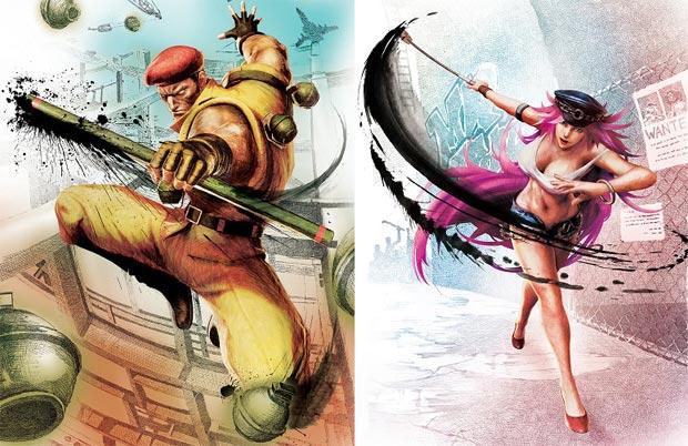 Rolento e Poison são adicionados em Street Fighter 4 (Foto: Divulgação)