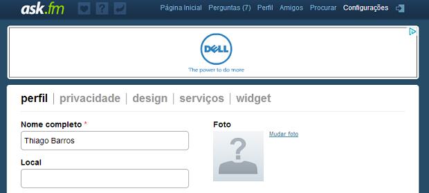 Widget pode ser adicionado de maneira bem fácil (Foto: Reprodução/Thiago Barros)