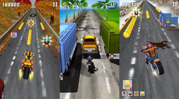 "3D Moto - The Lost City é um  ""Subway Surfers"" com motos (Foto: Divulgação) (Foto: 3D Moto - The Lost City é um  ""Subway Surfers"" com motos (Foto: Divulgação))"