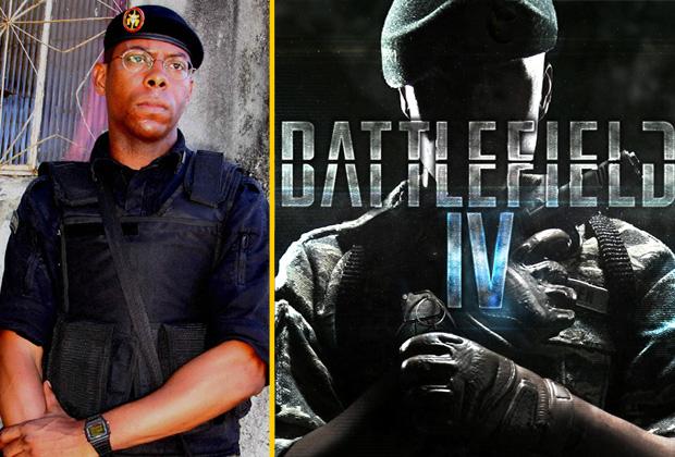 André Ramiro, de Tropa de Elite, será um dos dubladores de Battlefield 4 (Foto: Arte / TechTudo / Divulgação)