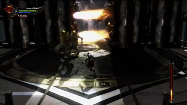 O primeiro round traz inimigos como Górgonas e Sirens. (Foto: Reprodução)