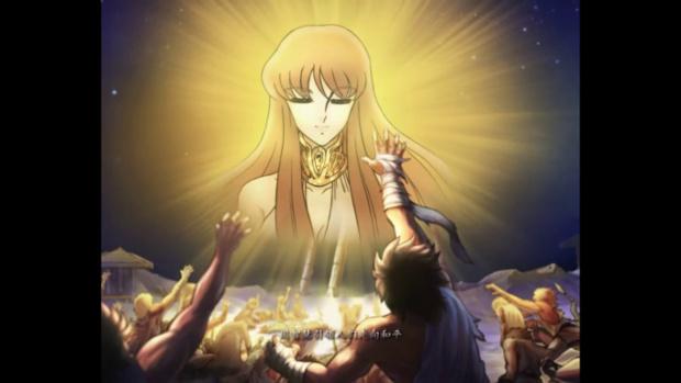 Animações e personagnes em Saint Seiya Online são baseadas no mangá (Foto: Reprodução / Dario Coutinho)