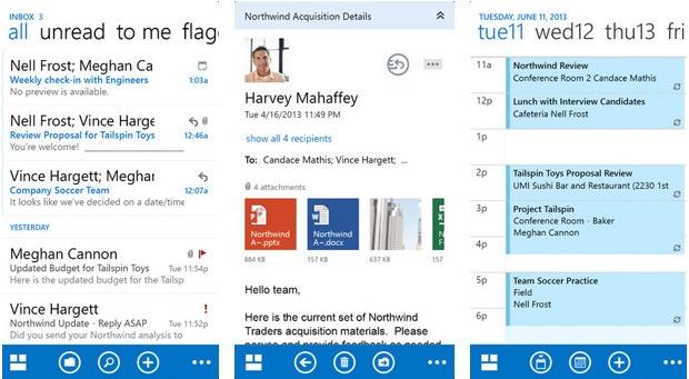 Outlook chegou ao iOS nesta semana (Foto: Divulgação)