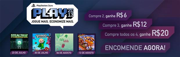 PLAY se inicia na PSN Brasil (Foto: Reprodução)