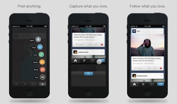 Tumblr para iOS ganhou update importante (Foto: Divulgação)