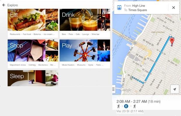 Google Maps agora está preparado para a tela do iPad (Foto: Divulgação)
