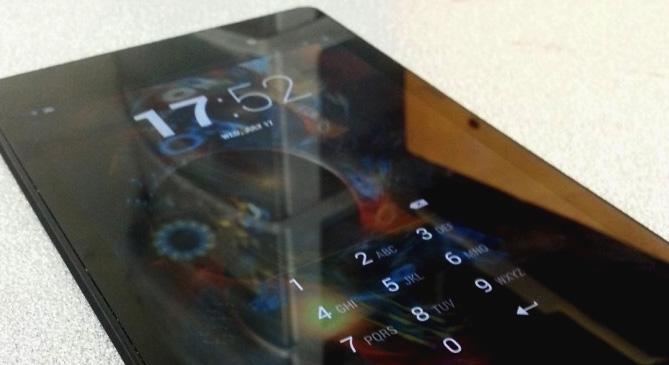 Fotos revelam o que seria o sucessor do Nexus 7 (Foto: Reprodução / Android Central)