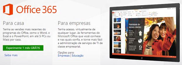 Office 365 ganhou promoção com a Xbox Live (Foto: Divulgação)