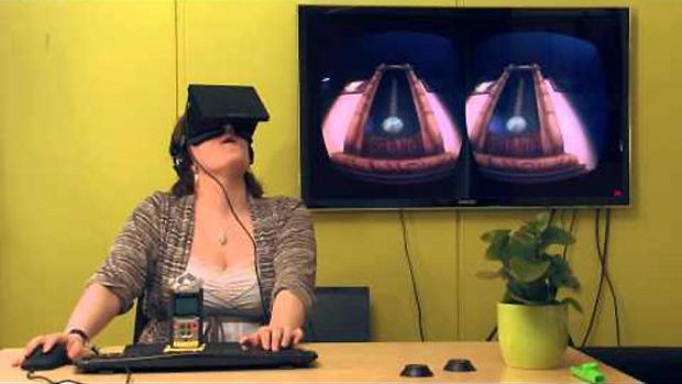 Among the Sleep com o Oculust Rift promete ser uma experiência surreal (Foto: joystiq.com)