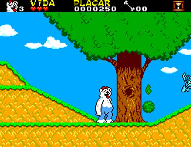 As Aventuras da TV Colosso é um dos games exclusivos do Master System lançados no Brasil (Foto: Reprodução/TechTudo) (Foto: As Aventuras da TV Colosso é um dos games exclusivos do Master System lançados no Brasil (Foto: Reprodução/TechTudo))