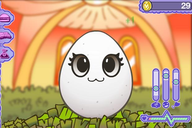 """Egg Baby é um """"Pou"""" com muito mais recursos e pets para cuidar (Foto: Divulgação)"""