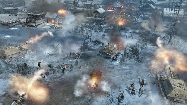 O inverno russo em Company of Heroes 2 (Foto: Divulgação)