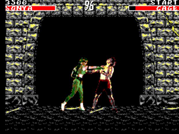 Mesmo limitado, Mortal Kombat foi lançado no Master System, que era mais poderoso (Foto: Reprodução/TechTudo) (Foto: Mesmo limitado, Mortal Kombat foi lançado no Master System, que era mais poderoso (Foto: Reprodução/TechTudo))