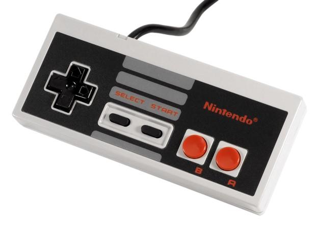 Controle da versão ocidental do NES (Foto: Reprodução/Academic.ru/TechTudo) (Foto: Controle da versão ocidental do NES (Foto: Reprodução/Academic.ru/TechTudo))