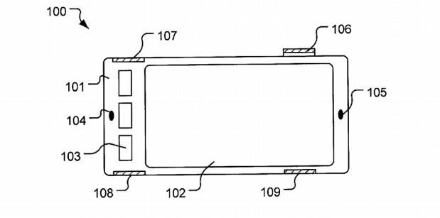 Patente mostra como pode funcionar a tecnologia (Foto: Reprodução/Engadget)