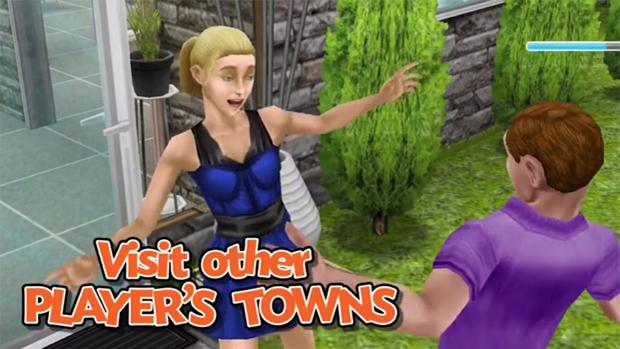 Atualização Neighbors adiciona elementos sociais a The Sims FreePlay (Foto: Reprodução)