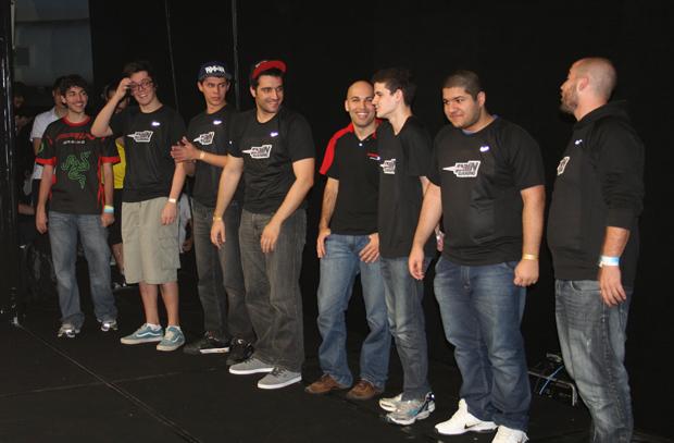 Equipe PaiN, a grande vencedora do torneio (Foto: Felipe Vinha/TechTudo)