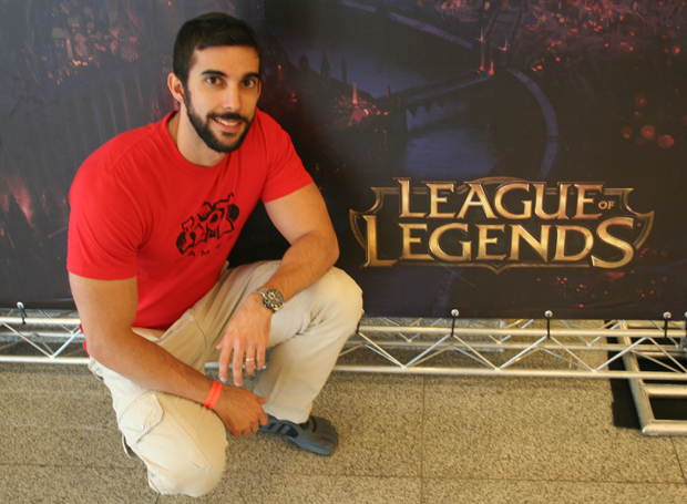 Felipe Gomes, do marketing da Riot Games (Foto: Felipe Vinha/TechTudo)