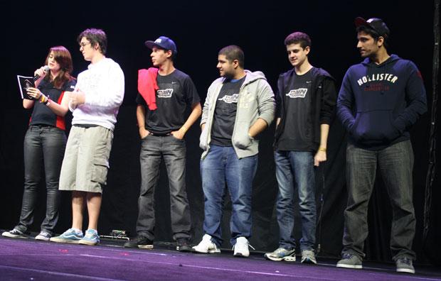Equipe PaiN Gaming antes da final de League of Legends (Foto: Felipe Vinha/TechTudo)
