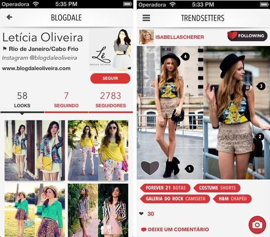 Dujour é um app de moda que mostra look do dia (Foto: Divulgação) (Foto: Dujour é um app de moda que mostra look do dia (Foto: Divulgação))