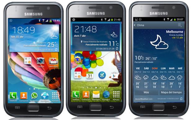 Samsung Galaxy S recebe o Android Jelly Bean graças a ROMs alternativas (Foto: Reprodução / TeamAndroid)