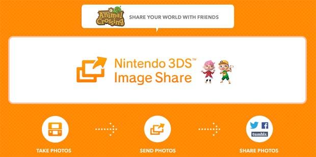 Aprenda a compartilhar suas imagens em Animal Crossing (Foto: Reprodução)