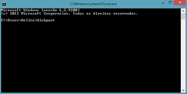 Prompt de comandos do Windows (Foto: Reprodução/Helito Bijora)