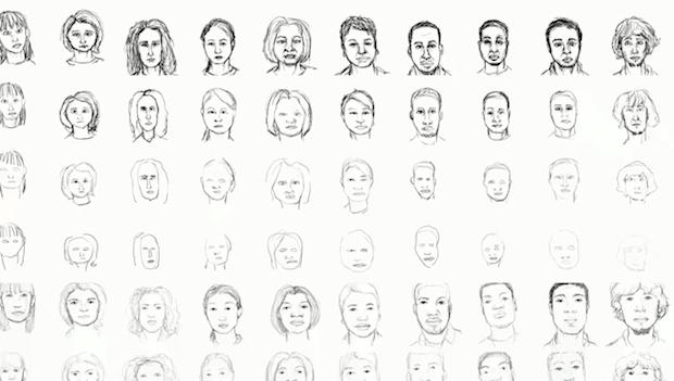 Computador da Disney analisa a técnica de desenho de artistas humanos (Foto: Reprodução)