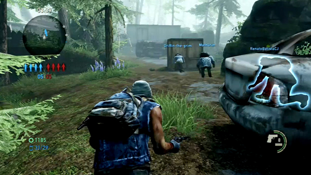 Multiplayer explora funcionalidades da campanha. (Foto: Reprodução)