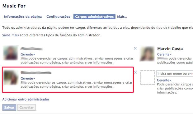 Escolhendo um administrador (Foto: Reprodução/Marvin Costa)