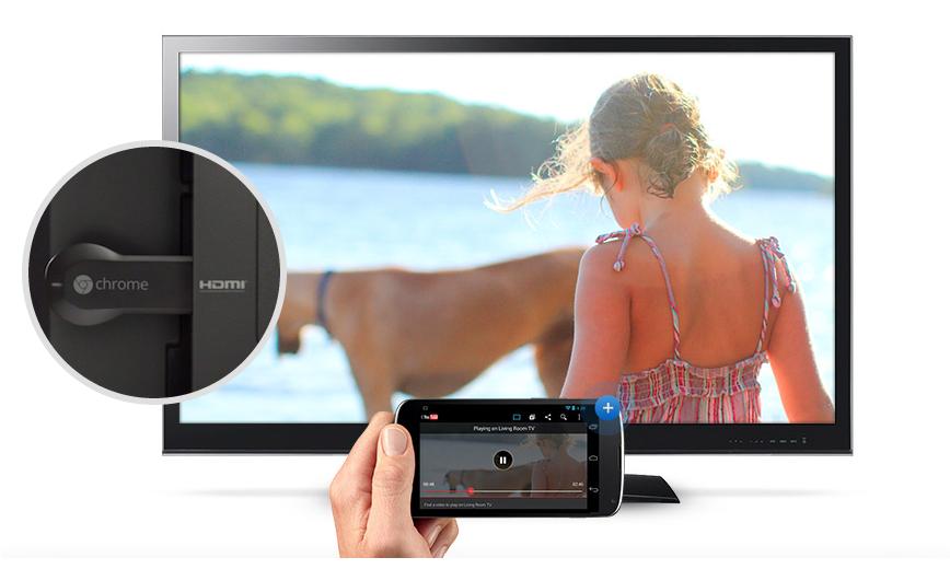 Chromecast do Google transforma TVs HD em Smart TV  (Foto: Divulgação)