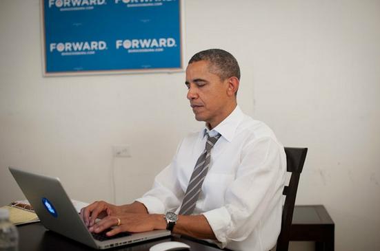 Obama é o mais seguido no Twitter dentre as autoridades (Foto: Reprodução)