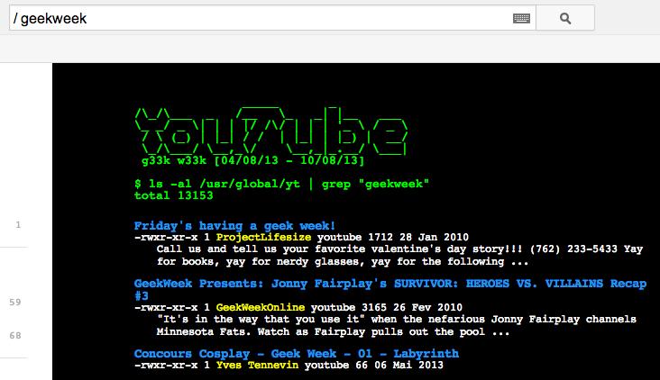 A semana geek do YouTube ganha layout ao estilo 8 bits (Foto: Reprodução/YouTube)