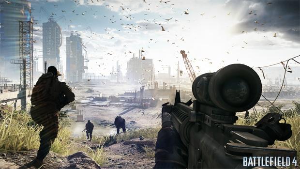 Battlefield 4 é a mais nova aposta da EA nos FPS (Foto: pcgamer.com)