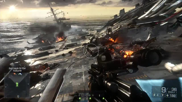 Quando os navios são atacados a esperança de paz começa a se esvair (Foto: vr-zone.com)