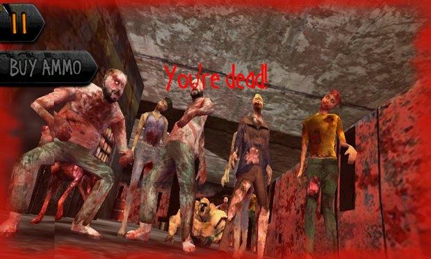 Sobreviva as hordas de zumbis em Dead Shot Zombies 2 (Foto: Divulgação)
