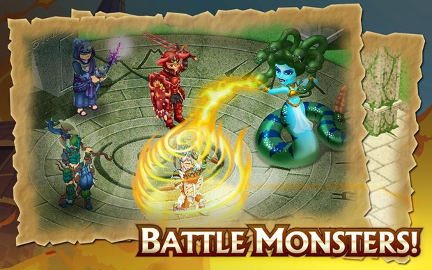 Knights & Dragons mistura estratégia e simulação com personagens mitológicos (Foto: Divulgação)