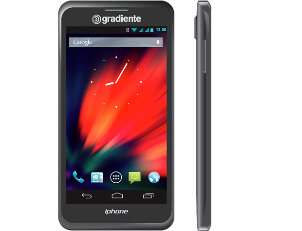 Iphone da Gradiente chega em outubro com boas especificações (Foto: Divulgação)