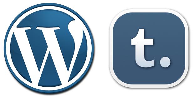 Disputa entre Tumblr e Wordpress é acirrada (Foto: Reprodução)