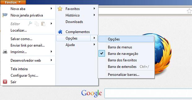 Como apagar as senhas memorizadas no Firefox (foto: Reprodução/João Kurtz)
