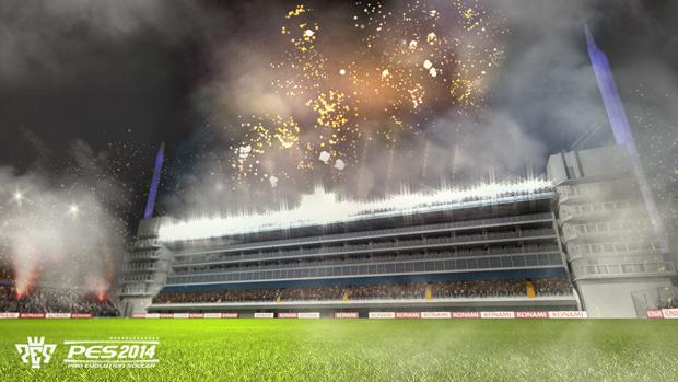 Estádio La Bombonera também está em PES 2014 (Foto: Divulgação)