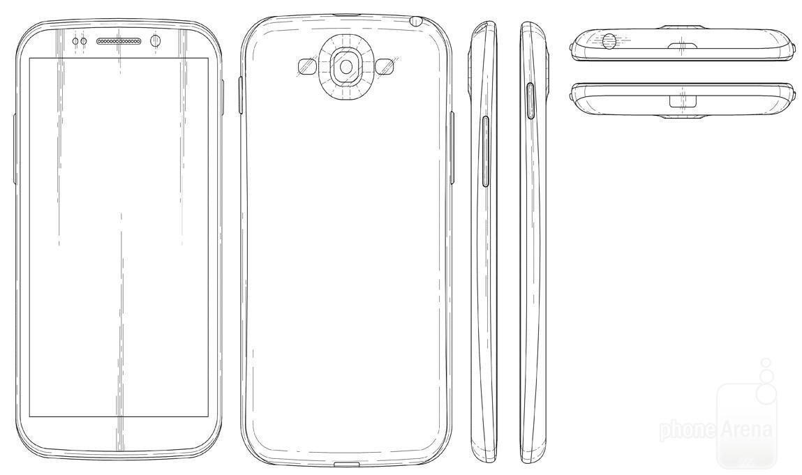 Suposto projeto do Galaxy S5 é divulgado (Foto:Reprodução/PhoneArena)