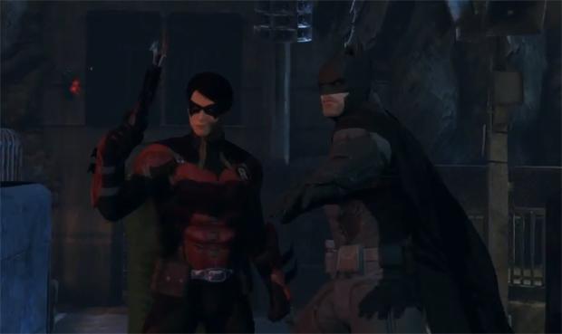 Batman e Robin no multiplayer de Arkham Origins (Foto: Reprodução) (Foto: Batman e Robin no multiplayer de Arkham Origins (Foto: Reprodução))