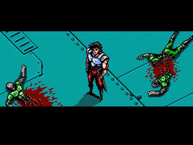 Oniken tem gráficos similares aos 8 bits do NES (Foto: Divulgação)