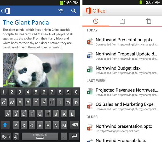 Office Mobile chega para Android (Foto: Reprodução/Google Play)