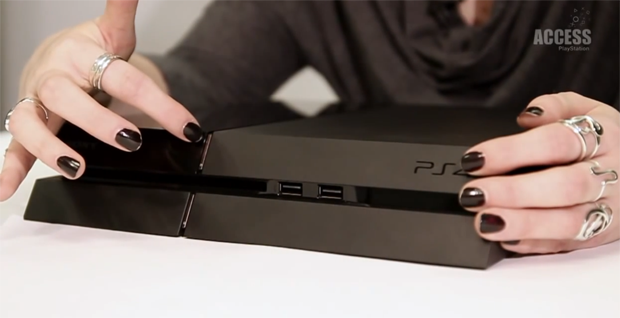 PS4 tem botões frontais escondidos (Foto: Reprodução)