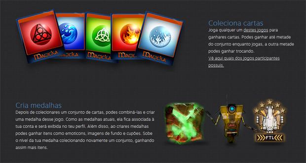 Steam Trading Cards podem conceder benefícios (Foto: Divulgação)