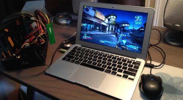 MacBook com GPU externa ficou bem mais poderoso (Foto: Reprodução/Engadget)