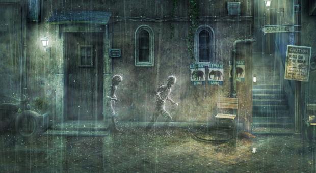 Rain colocará jogador para procurar uma menina invisível. (Foto: Divulgação)
