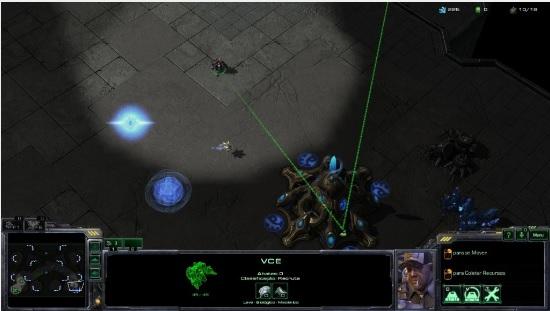 Explore sempre o mapa para conhecer melhor seu inimigo em StarCraft 2 (Foto: João Moura / TechTudo)